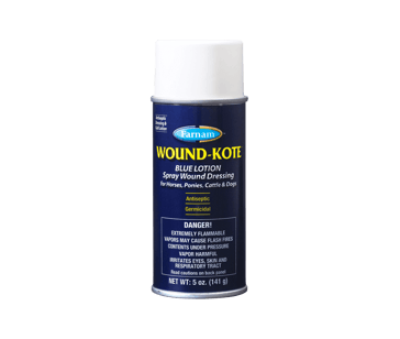 Farnam Wound-Kote Blue Lotion Spray 5oz
