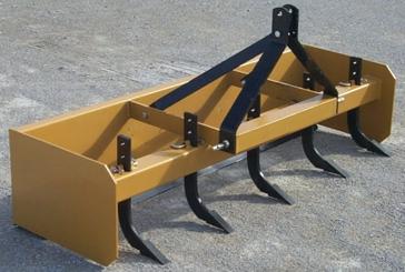 Worksaver 3-Point 4ft Box Blade Scraper SBX-4