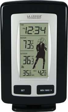 La Crosse Technology Wireless Temperature Station WS-9760U-IT