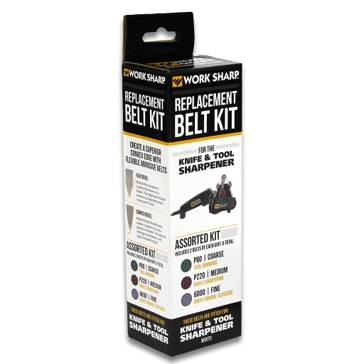 Work Sharp OEM Assorted Replacement Belt Kit