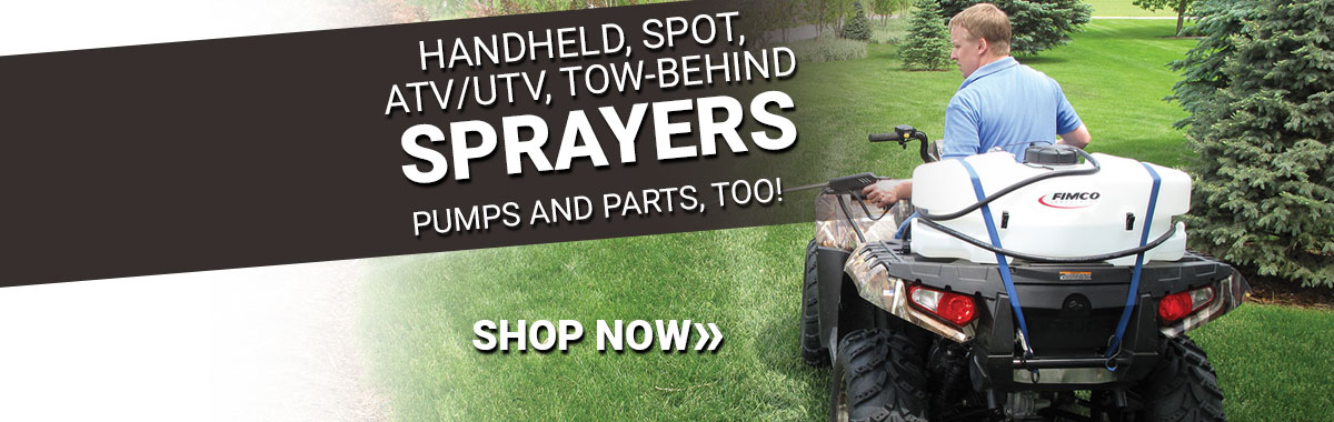 sprayers and parts