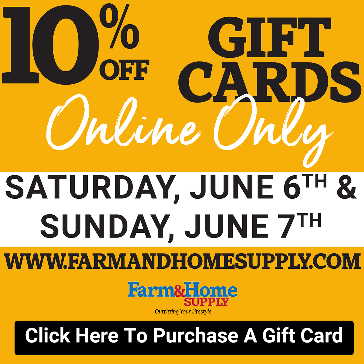 10% Off Gift Cards Online