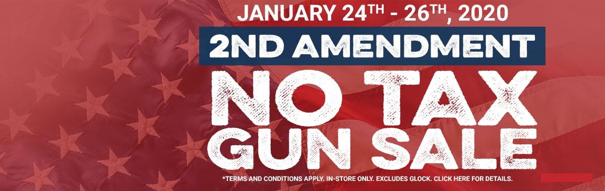2nd Amendment No Tax Sale
