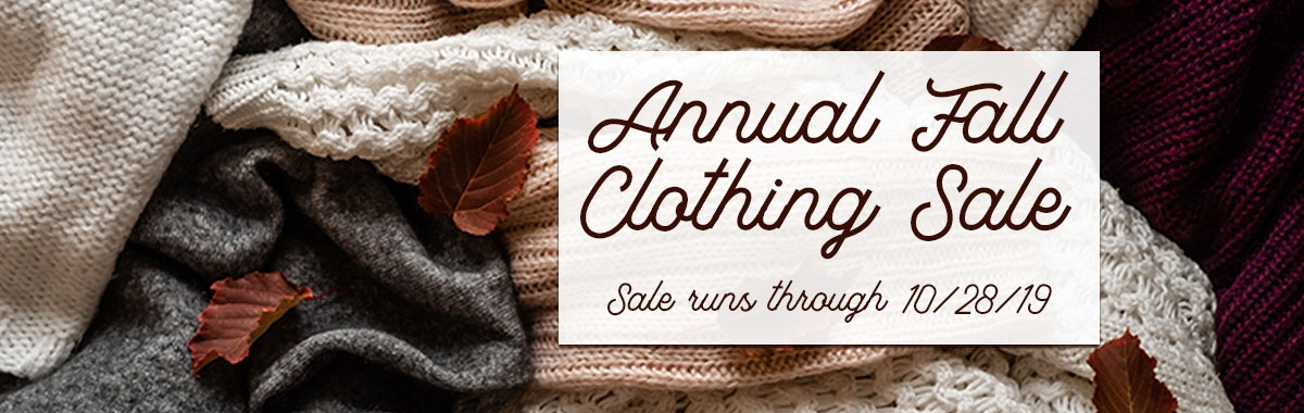 Fall Clothing Ad