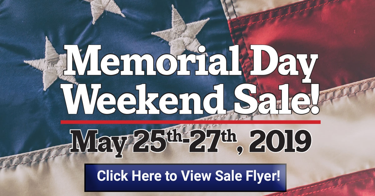 3 Day Memorial Day Sale