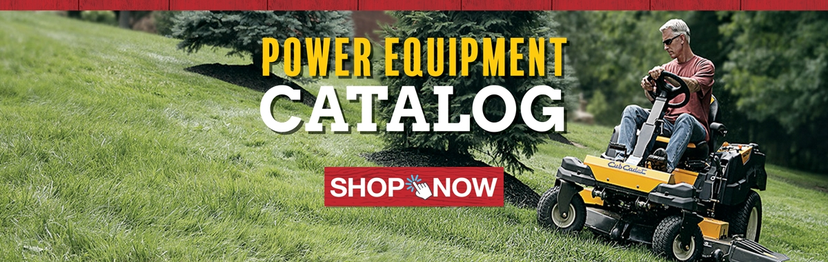 View Our Spring Power Equipment Catalog!