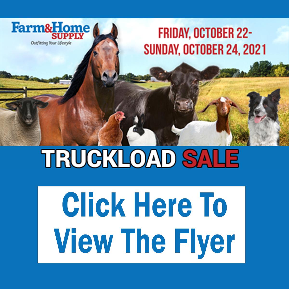 Truckload Feed Sale