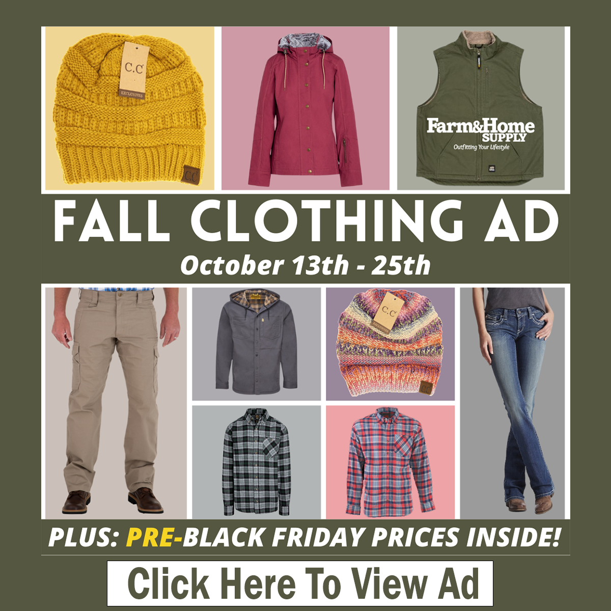 Annual Fall Clothing
