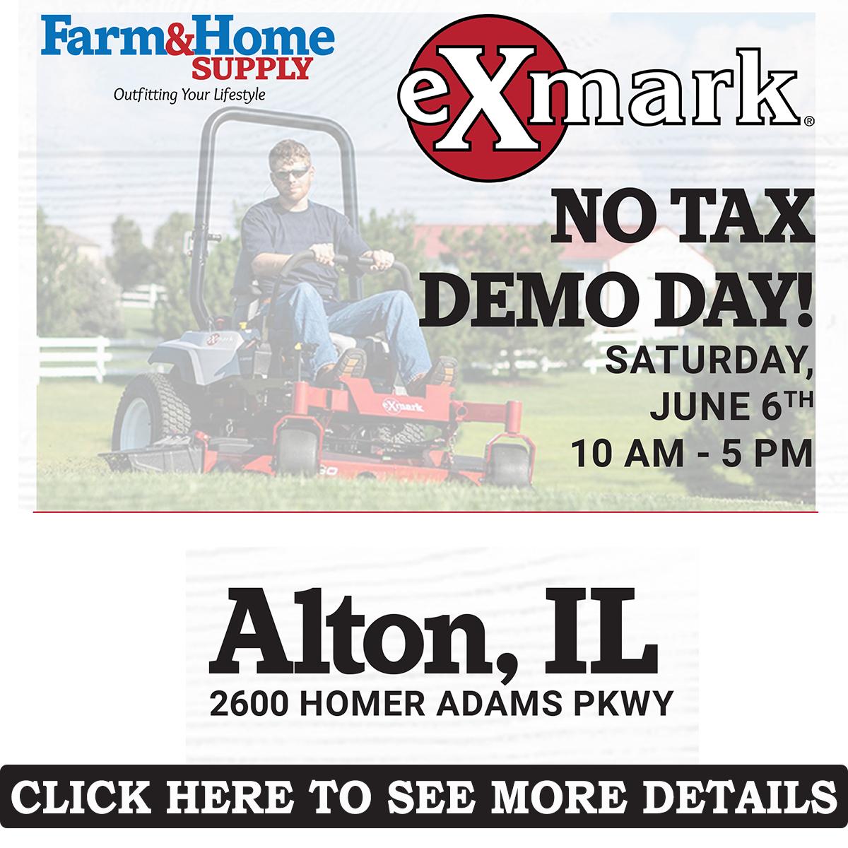 Alton Only No Tax Demo Day