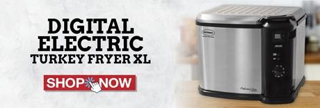 Digital Turkey Fryer