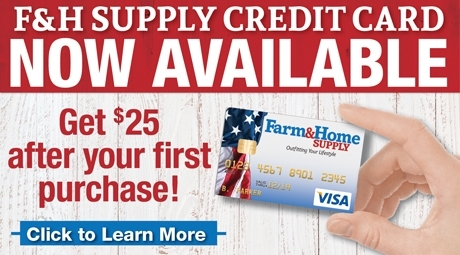 F&H Supply Credit Card