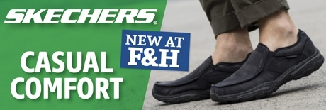 Skechers new at Farm and Home!