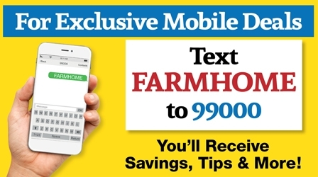 Text FARMHOME to 99000 Join Our Text Club
